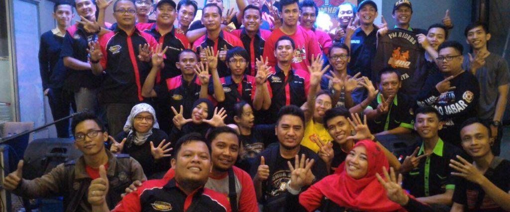 Foto bersama HSX 125 Chapter Bekasi
